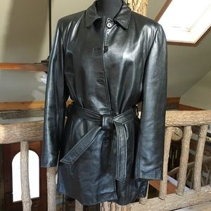 f7aa257dd78 🧥SALE🧥Jim   MaryLou Leather Coat w Thinsulate XL